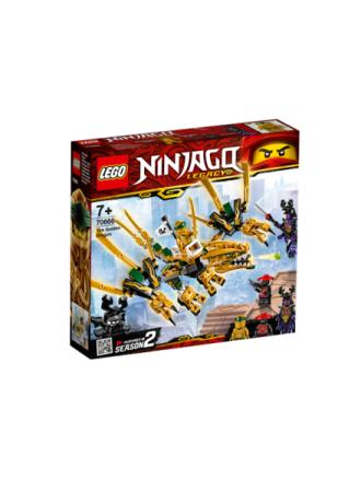 Ninjago 70666 Den gyldne drage - Proshop