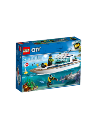 City 60221 Dykker-yacht - Proshop
