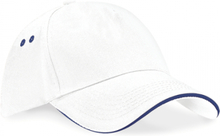 Ultimate 5 Panel Cap White/French Navy