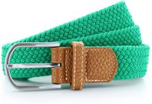 Braid Stretch Belt Kelly Green