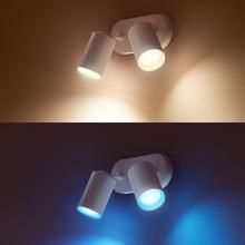 Philips Spotlight Hue Fugato White and Color 2x5,7W Vit