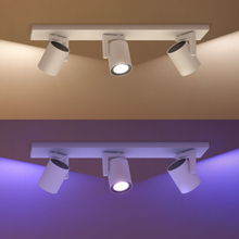 Philips Hue Spotlight Argenta White and Color 3x5,7W Vit