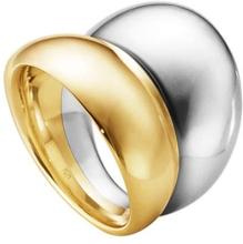 Georg Jensen Curve Ring Silver/Guld