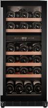 Cavin Scandinavian Collection 800 Inbyggbar Vinkylskåp rostfritt stål, 29 flaskor