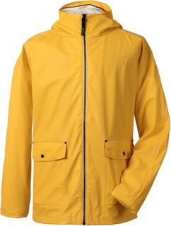 Dylan Mens Jacket Yellow PU Regnjacka Herr Didriksons, Didriksons
