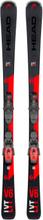 HEAD V-shape V6 Lyt + PR 11 GW Slalomskidor Svart 177CM