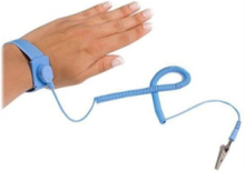 ESD Anti Static Wrist Strap Band with Grounding Wire - anti-static wrist band