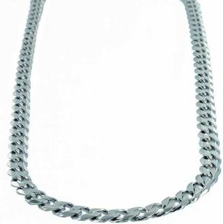 Halsband Sterling silver Pansarlänk 6 mm