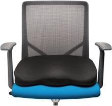 Ergonomic Memory Foam Seat Cushion Zubehör - Schwarz -