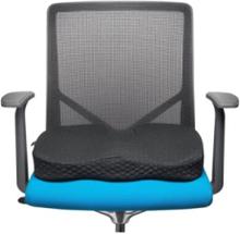 Sitzkissen mit Premium-Kühlgel, schwarz Zubehör - Schwarz -