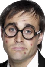 Skolegutt briller - sort