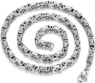 Halsband Kungalänk Stainless Steel 8mm