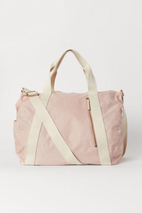 H & M - Viikonloppulaukku - Pinkki