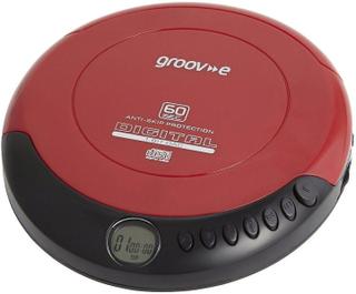 Groov-e batteridriven GV-PS110-RD bärbara elnätet/Retro personliga ...