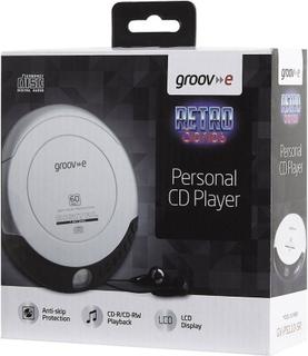 Groov-e batteridriven GV-PS110-SR bärbara elnätet/Retro personliga ...