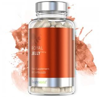 Royal Jelly - Naturlig Støtte Av Immunforsvaret - Tilskudd Fra Bier - 60 Tabletter