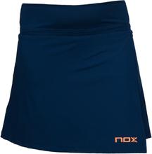 Nox Pro Skirt Padel Navy/Fluorine Orange XS