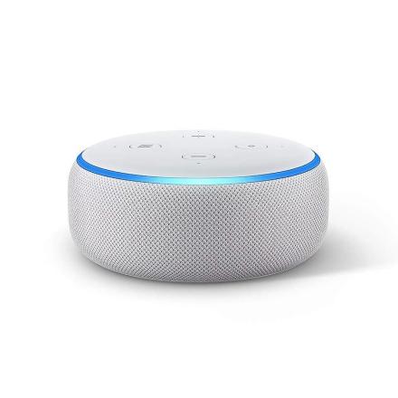 Nye ekko Dot (3. generasjon) - Smart høyttaler med Alexa - sandstei...