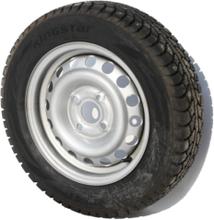 13″ hjul dubb, 4 bults, 155 / 70 R13