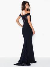 Missguided Bridesmaid Bardot Lace Fishtail Maxi Maxiklänningar