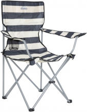 Trespass Branson - Foldbar campingstol med drinksholder - Navy Stripe