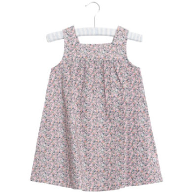 Wheat Kjole Ayla blossom - Gr.fra 6 mdr. - Pige - pinkorblue