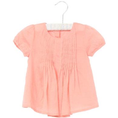 Wheat Bluse Gudda lightcoral - rosa/pink - Gr.fra 6 år - Pige - pinkorblue