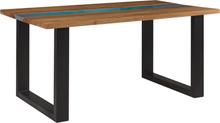 Ruokapöytä 160x90 cm puinen RIVIERE