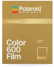 Polaroid Originals Color Film For 600 Metallic Gold Frame, Polaroid Originals