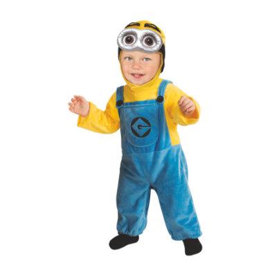 Rubies Kostume Minion Dave Baby - flerfarvet - Gr.74 - Dreng/Pige - pinkorblue
