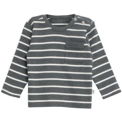 WHEAT Shirt Jesper steelmelange - grå - Gr.fra 3 år - Dreng - pinkorblue