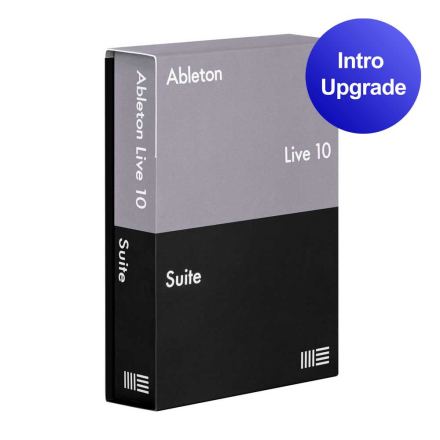 Ableton Live 10 Suite upgrade from Live Intro programvare