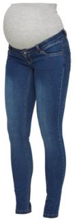 Mama Licious Jeans MLLOLA Blue Denim - blå - Gr.33/34
