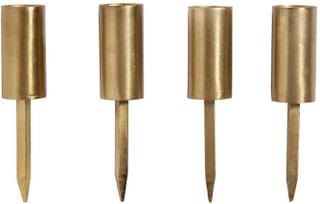 Nordal - Lysholder til dekoration i guld - 1 stk