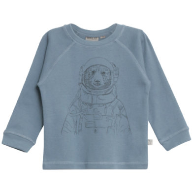 WHEAT T-Shirt Spaceman blue - blå - Gr.fra 4 år - Dreng - pinkorblue