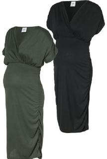 Mama Licious Kjole MLPILAR 2er-Pack thyme - grøn