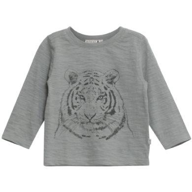 WHEAT Shirt Tiger darkslate - grå - Gr.fra 6 år - Dreng - pinkorblue
