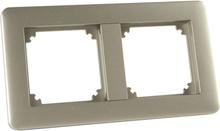Schneider Exxact Kombinationsram 2 fack, metallic