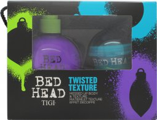 Tigi Bed Head Twisted Texture Presentset 200ml Small Talk Thickifier + 42g Hard to Get Texturizing Paste