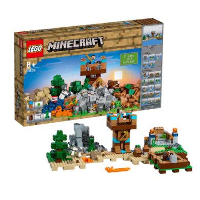 Lego ® Minecraft™ Crafting-boks 2.0 21135 - pinkorblue