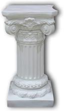 Piedestalen i vit, 69x35x35 cm