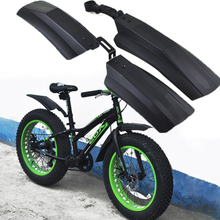 Snow Bicycle mudguard Fat bike Fender Front Rear Mud Guard for 20 inch 26inch Fatbike MTB Bikes Cycling Bicycle Fenders