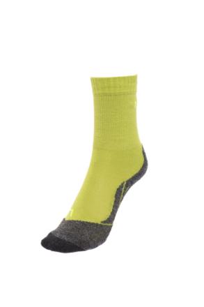 Falke TK2 Lapset sukat , keltainen/harmaa 27-30 2019 Lasten sukat