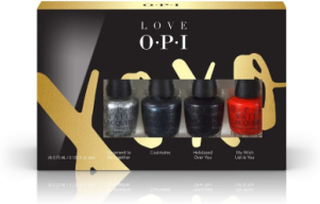 OPI Holiday Mini Pack 4 Pieces Set 4 x 3.75ml