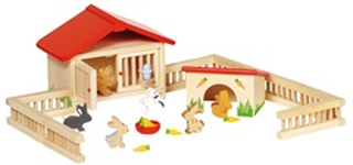 Goki Poppenhuis - Konijnenhok