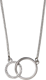 Pilgrim Halsband Victoria Silver Crystal 37b3592fb6038