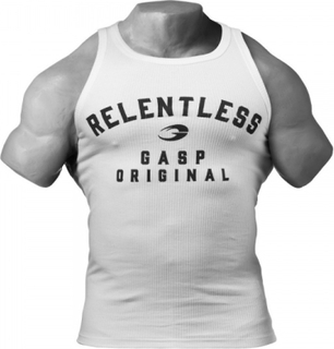 Gasp Relentless Tank - White