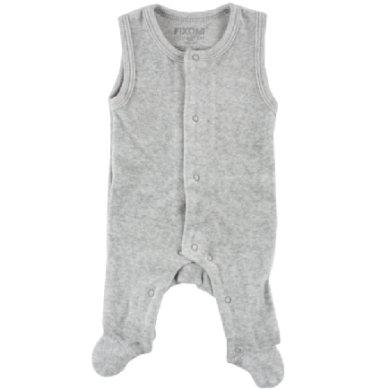 Fixoni Fortidligtfødte Body light grey - grå - Gr.38 - Dreng/Pige - pinkorblue