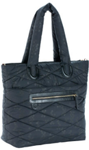 Lässig Glam Pusletaske Glam Tote Bag Pacific Flower black - sort