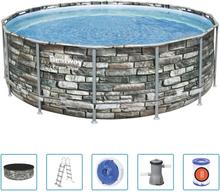 Bestway Power Steel swimmingpool 427x122 cm